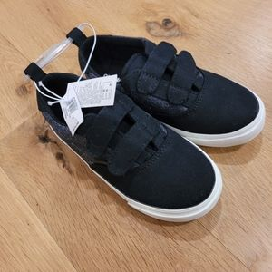 NWT Old Navy Canvas Double Strap Sneakers
